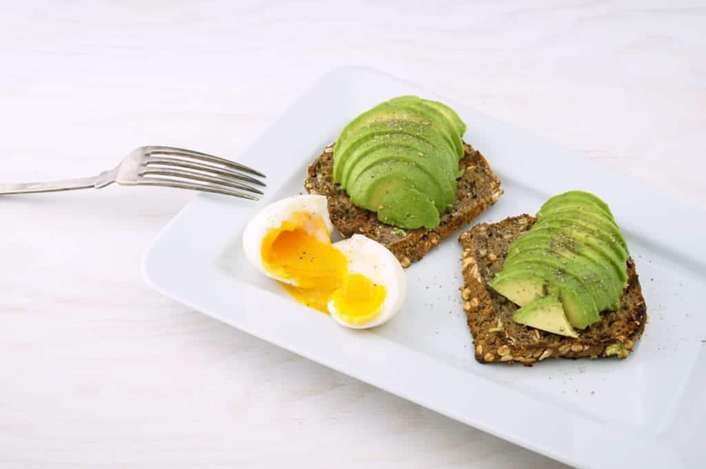 Improve The Skill Of Making Avocado Toast with Egg